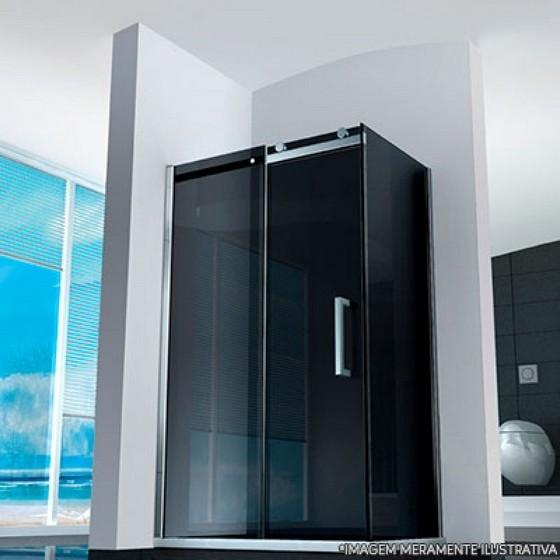 Box de Banheiro Vidro Fumê Preço Parque Santos Dumont - Box de Vidro para Banheiro para Empresa