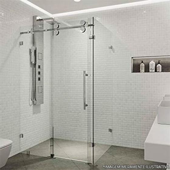 Box de Vidro para Banheiro Pequeno Pimentas - Box de Banheiro Vidro