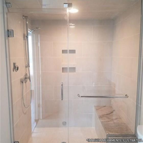 Box de Vidro Temperado para Banheiro Preço Santa Isabel - Box de Banheiro de Vidro