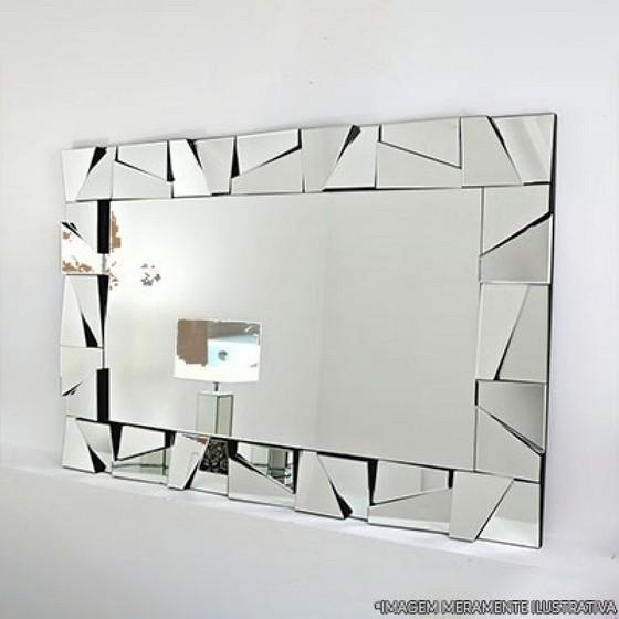Espelho Bisotado Orçamento Jardim Zaira - Espelho Camarim