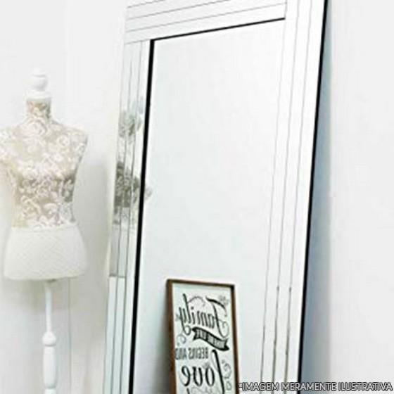 Espelho Grande para Empresa Tapera Grande - Espelho Bisotado