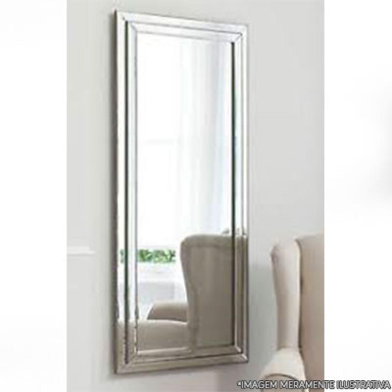 Espelho para Sala Várzea do Palácio - Espelho Bisotado