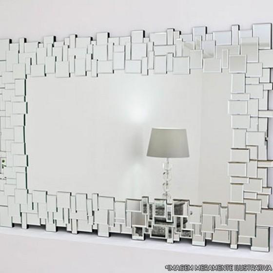 Espelhos Decorativos Orçamento Vila Cabo Sul - Espelho Bisotado