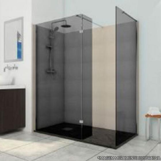 Instalação de Box de Banheiro Vidro Fumê Haroldo Veloso - Box de Vidro para Banheiro para Empresa