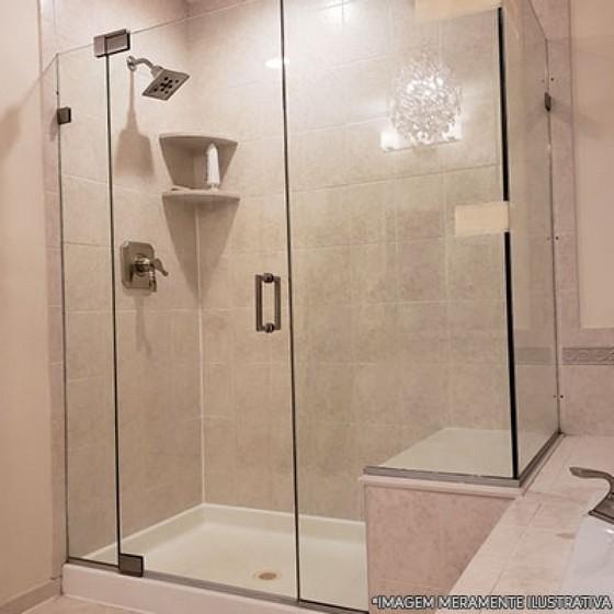 Instalação de Box de Vidro Banheiro para Empresa Parque Jurema - Box para Banheiro de Vidro