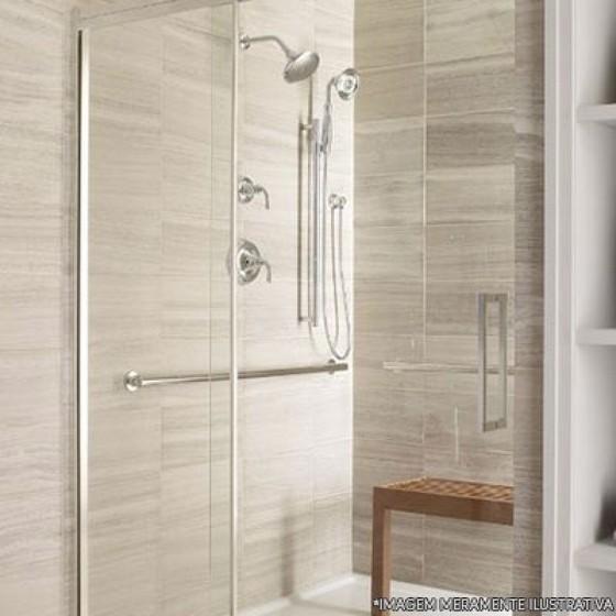 Instalação de Box de Vidro para Banheiro Pequeno Jardim Aracília - Box de Vidro para Banheiro para Empresa