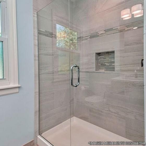 Instalação de Box para Banheiro de Vidro Condomínio Veigas - Box para Banheiro de Vidro