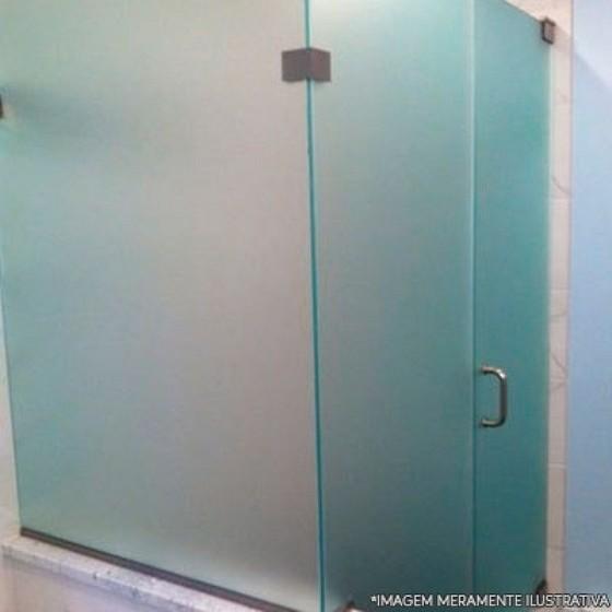 Orçamento para Box de Vidro Jateado Água Chata - Box de Banheiro de Vidro