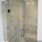 box de vidro banheiro para empresa Padre Bento