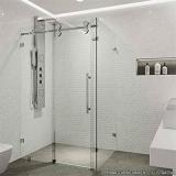 box de vidro temperado para banheiro Vila Hulda