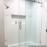 box para banheiros de vidro Água Chata