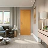 piso laminado de madeira Condomínio Veigas